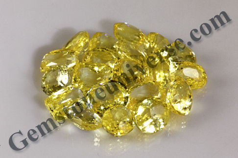 VED The Word of God Natural Yellow Sapphires