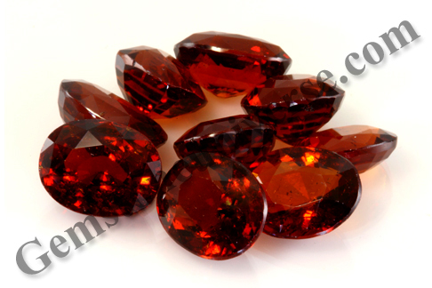 Natural Hessonite Lot MAHESH