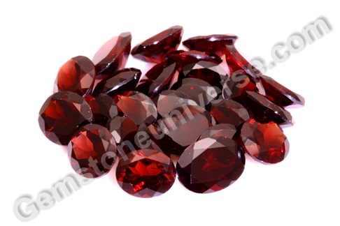 Natural Red Garnet Lot TYCHE