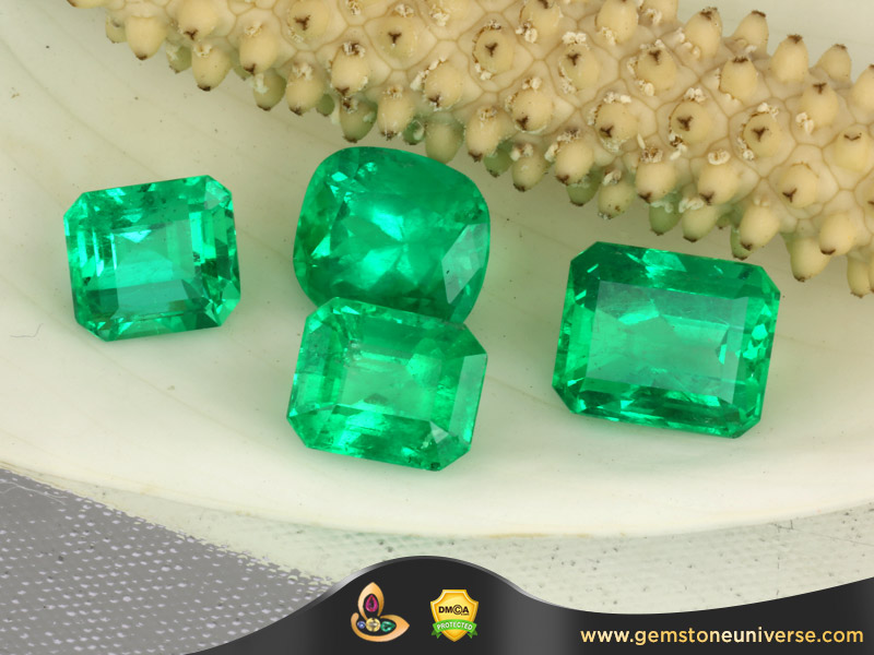New Lot of Zambian Emeralds Divine