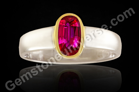 Unheated natural Mozambique Ruby Gemstone