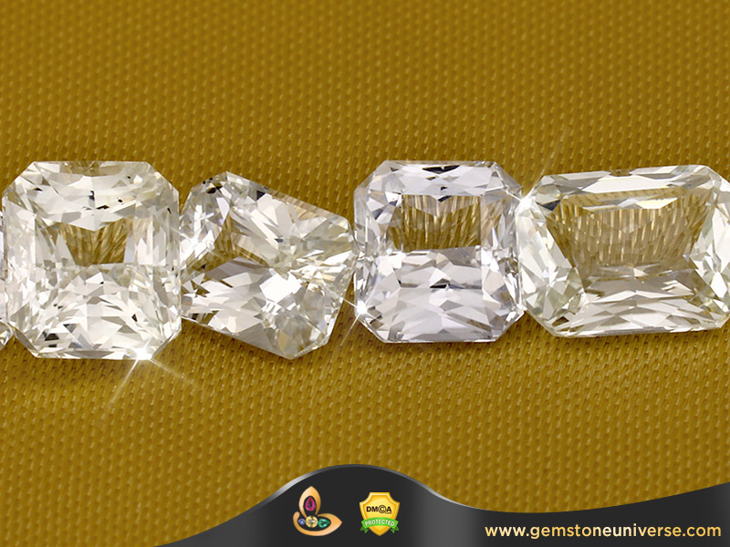 White Zircon Jyotish Gemstones from Sri Lanka