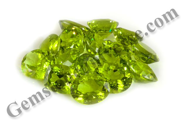 New Lot of Peridots from China Jayant