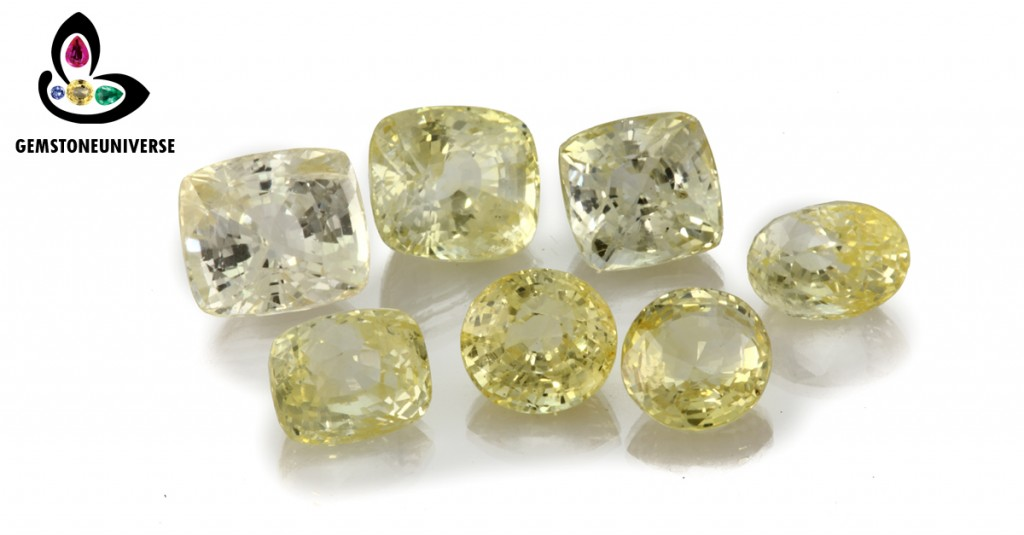 Unheated Premium Yellow Sapphires  from Lot Vibhuti