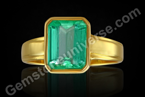 Natural Colombian Emerald Gemstone
