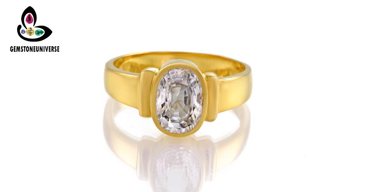 White Sapphire Gemstone Astrology