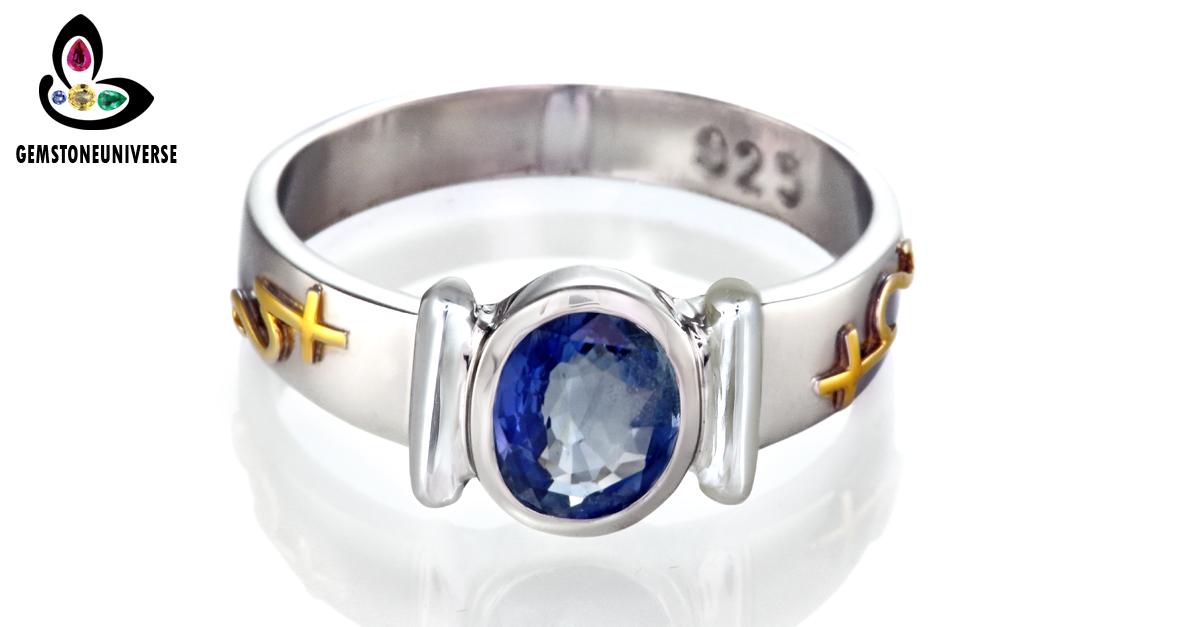 sapphire rings blue sapphire ring jyotish gemstones