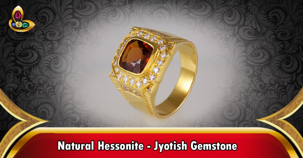 A Fine Hessonite Ring from Gemstoneuniverse