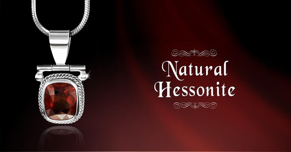 Hessonite Pendant
