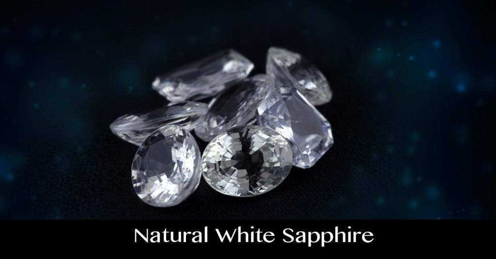 White Sapphire Gemstone Lot from Srilanka