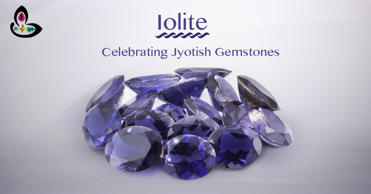 Calibrated Iolite Gemstones from Lot Anika