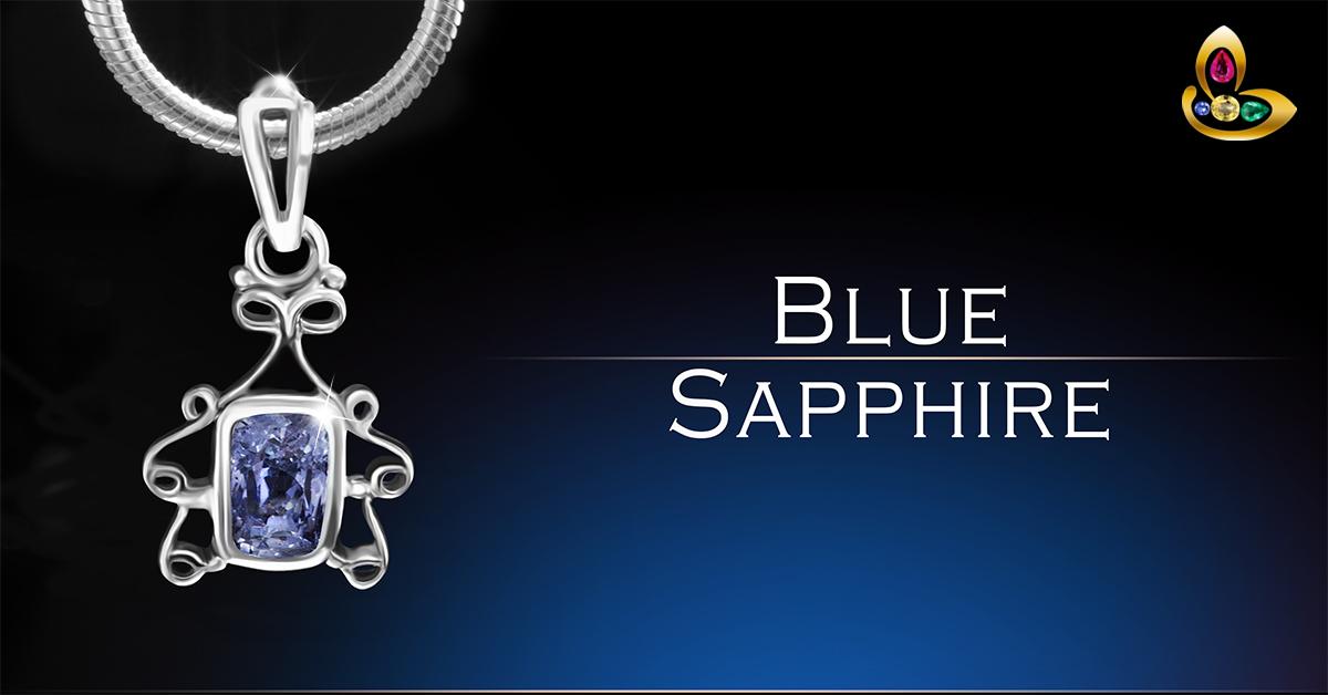 Beautiful Blue Sapphire Pendant