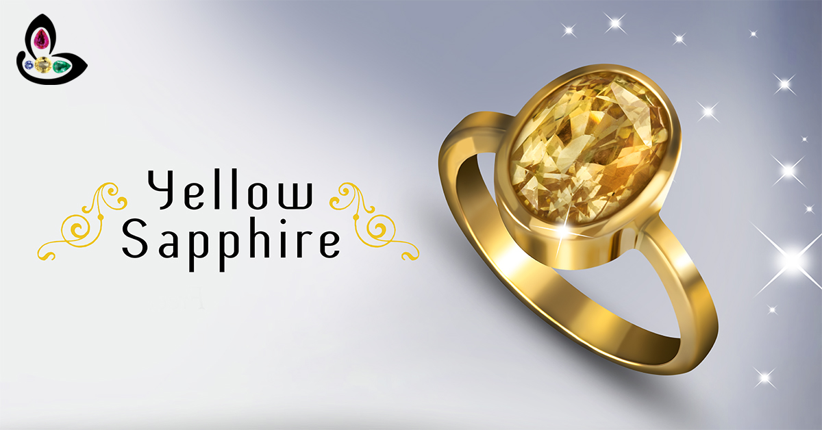 Natural Unheated and Untreated Yellow Sapphire