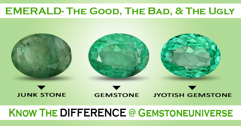 Another example that illustrates the difference between a Stone and a Gemstone