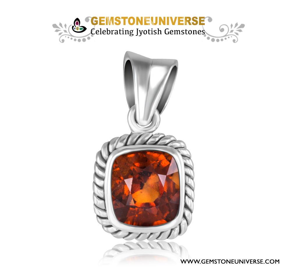 Can Hessonite be worn as pendant