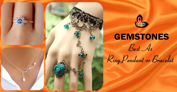 Gemstones Best as a ring Pendant or Bracelet
