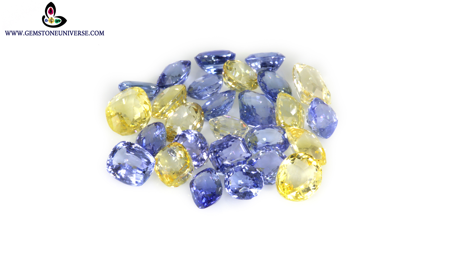 Natural Sapphires from Lot Rishi