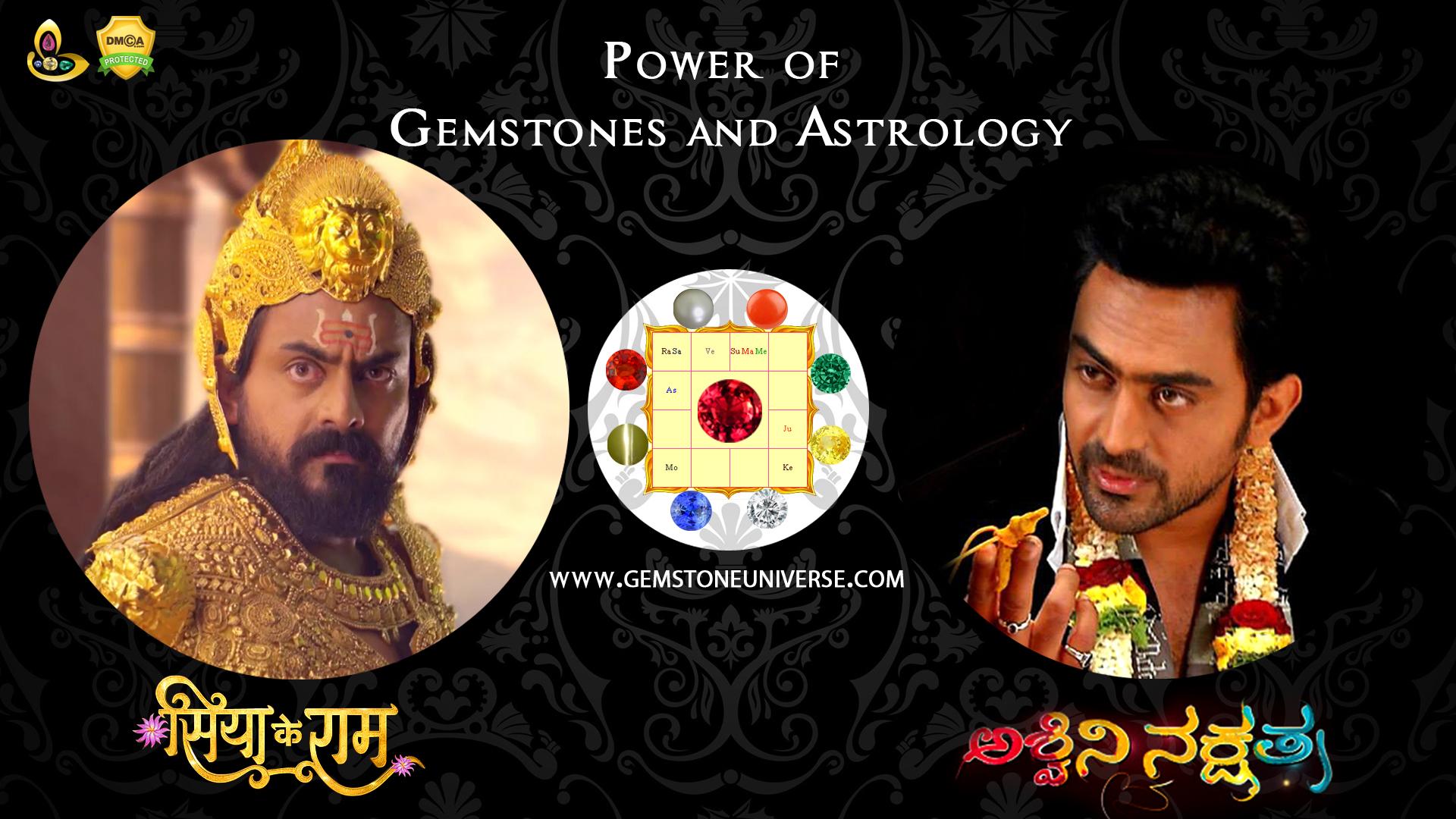 Ravan from Siya Ke Ram & Ashwini Nakshtra Fame Superstar JK a Gemstoneuniverse Patron speaks about Gemstones & Astrology Power