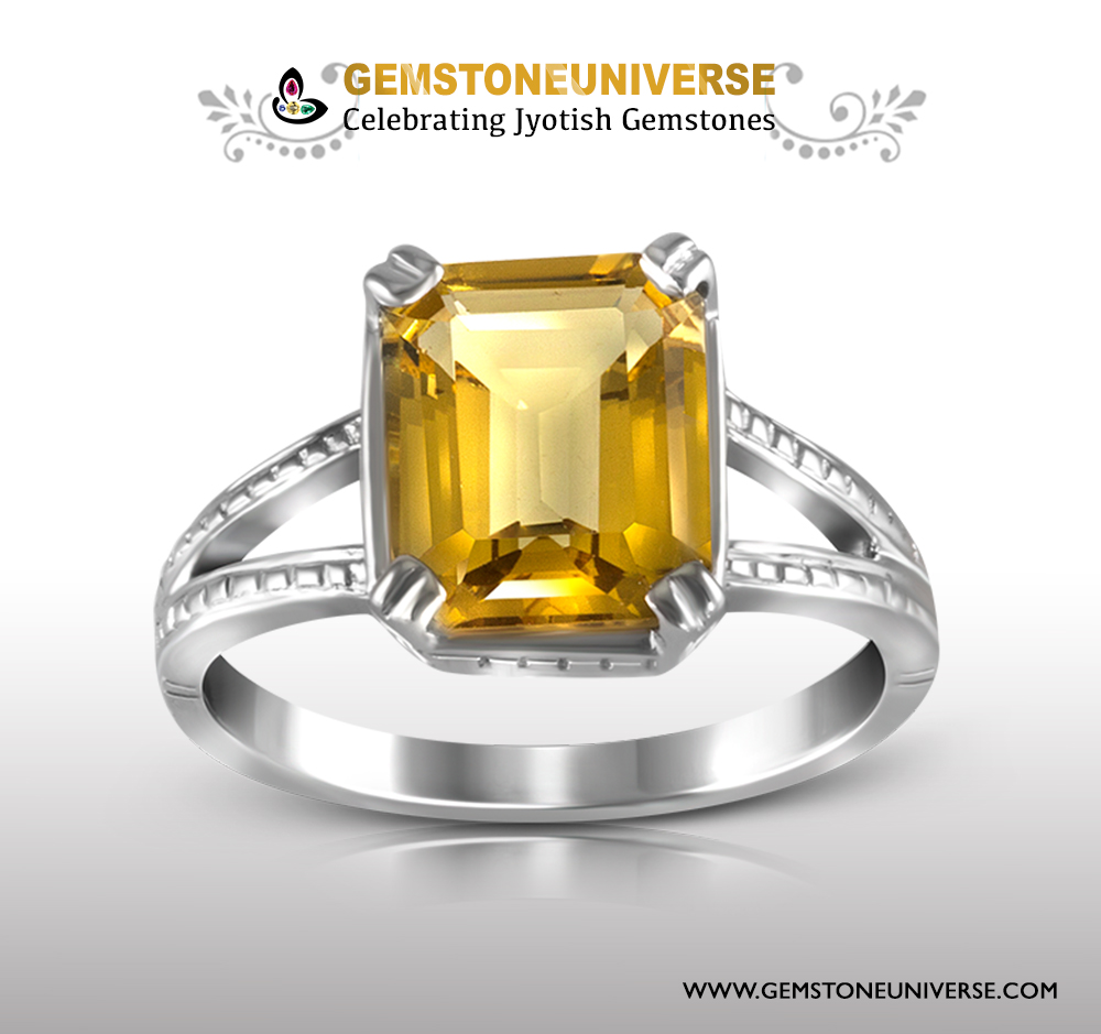 Golden Beryl Hellidor ring