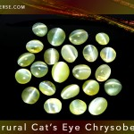 Natural Cats Eye Chrysoberyl from India