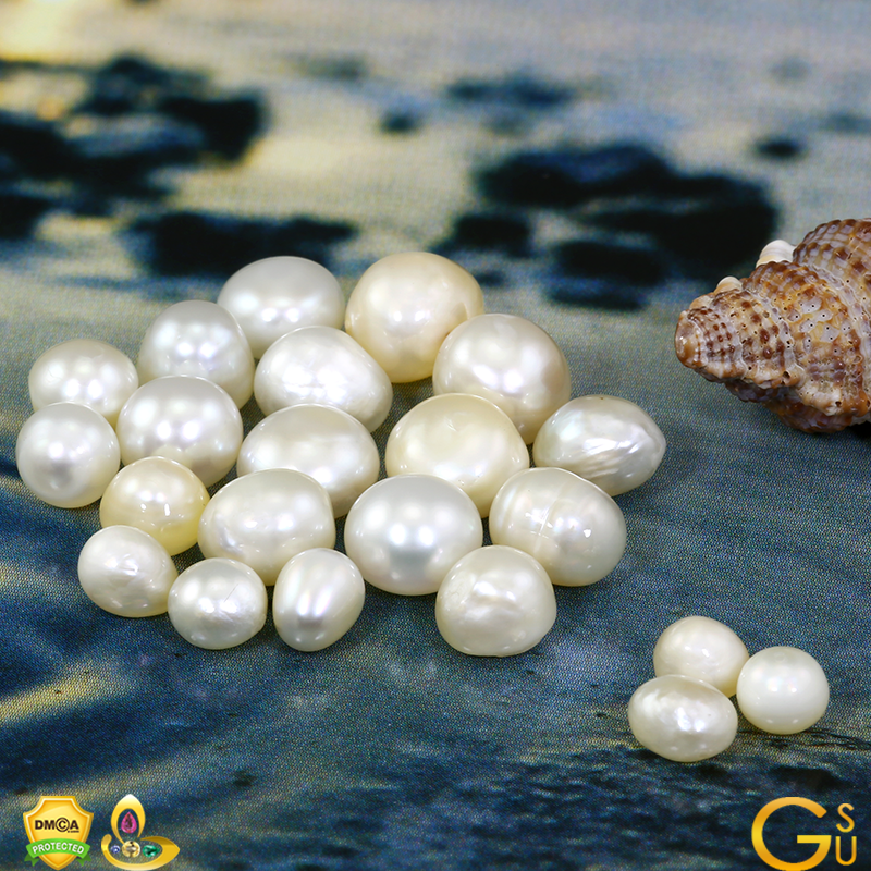 Fine All Natural Pearls from Lot Kedar from Gemstoneuniverse