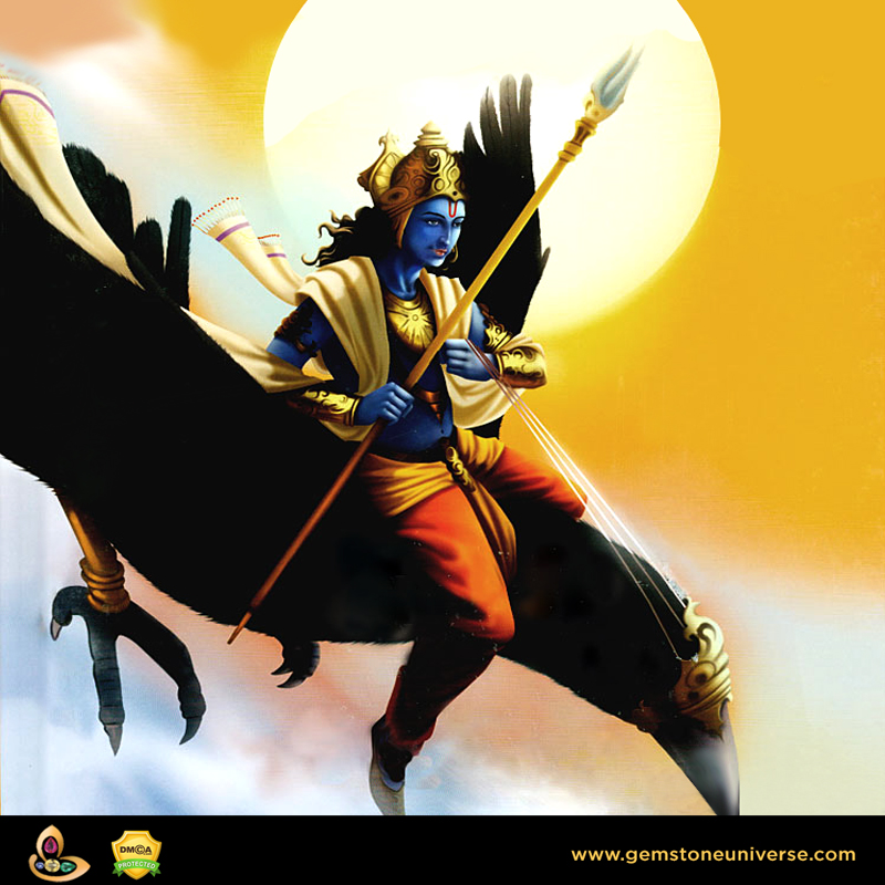 Pray to Lord Shani and Ask for Grace and Success in Blue Sapphire Trial