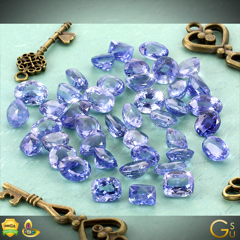Fine Jyotish Sapphires from Lot Sarvesh from the Gemstoneuniverse Collection