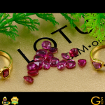 Flawless Jyotish Rubies from Mozambique from Lot Agni