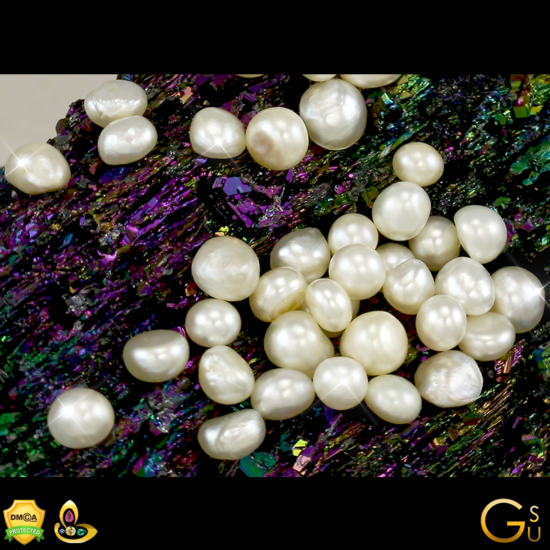 Real Pearls from Lot Vaibhavi for Astrological Powers of the Moon