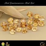 Fine Natural Hessonite from Tanzania. The best for the best