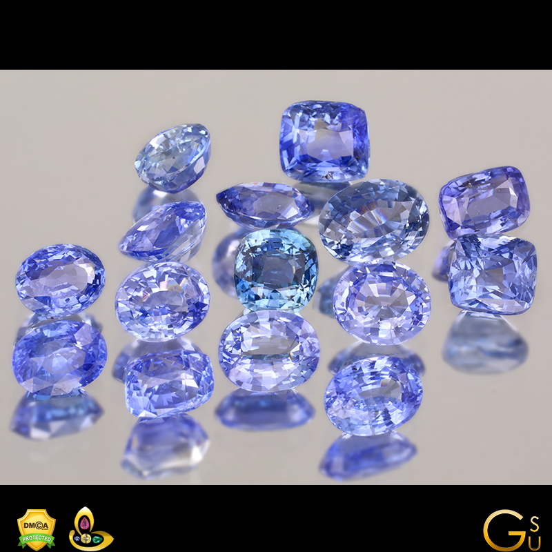 Fine Natural Unheated Blue Sapphires from the Gemstoneuniverse collection