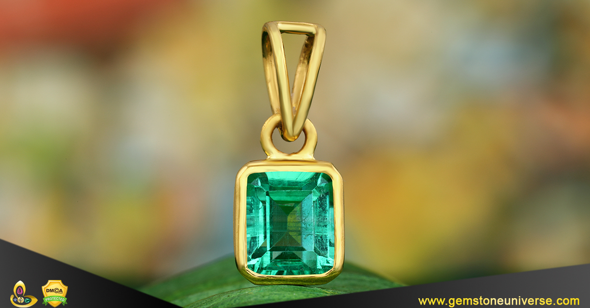 Lux Muzo Mine Emerald from the Gemstoneuniverse collection of fine Gemstones