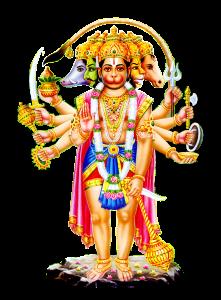 Sri Hanuman Ji Represents Mars Energy