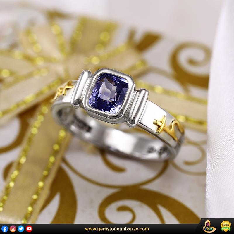 Unheated Sri Lankan Blue Sapphire Jyotish Gemstone from Gemstoneuniverse