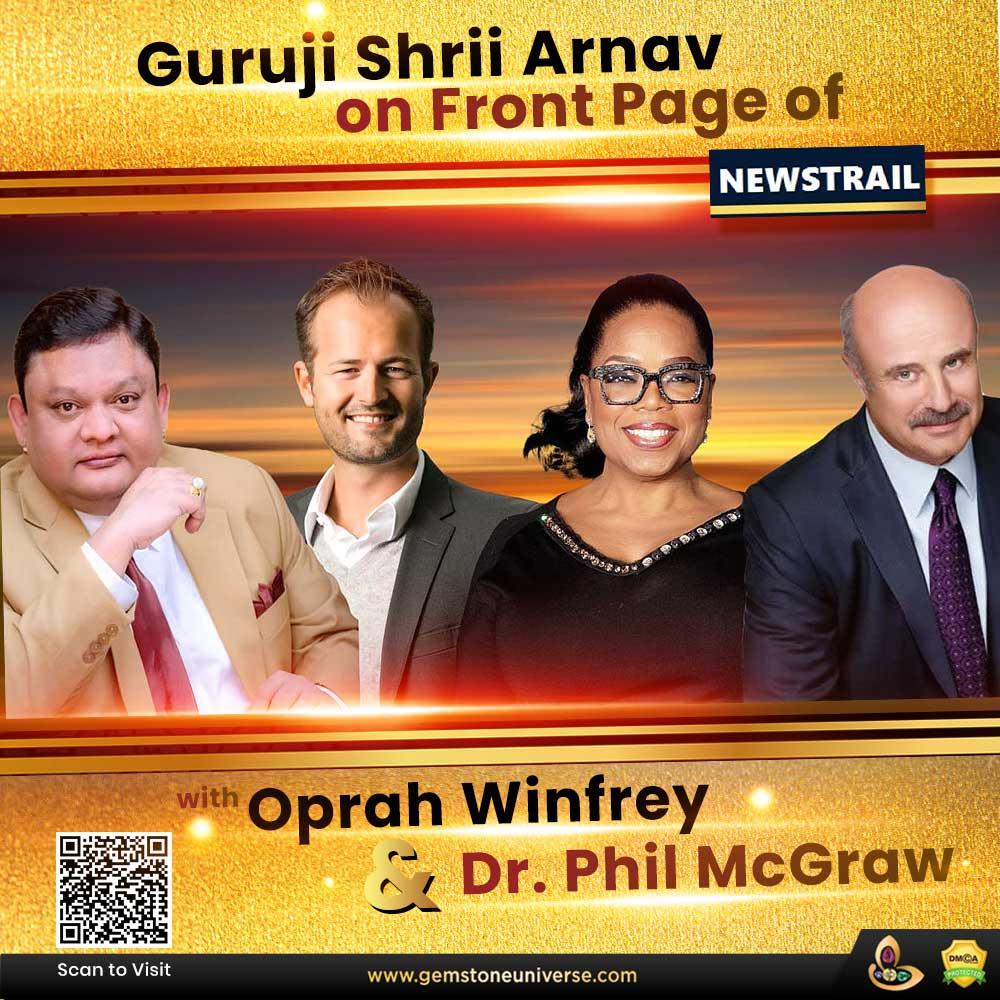 Guruji Shrii Arnav listed Top mentor and thought leader alongside Oprah Winfrey and Dr Phil McGraw