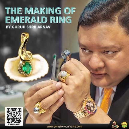 Extra Care while Setting Emerald Gemstones