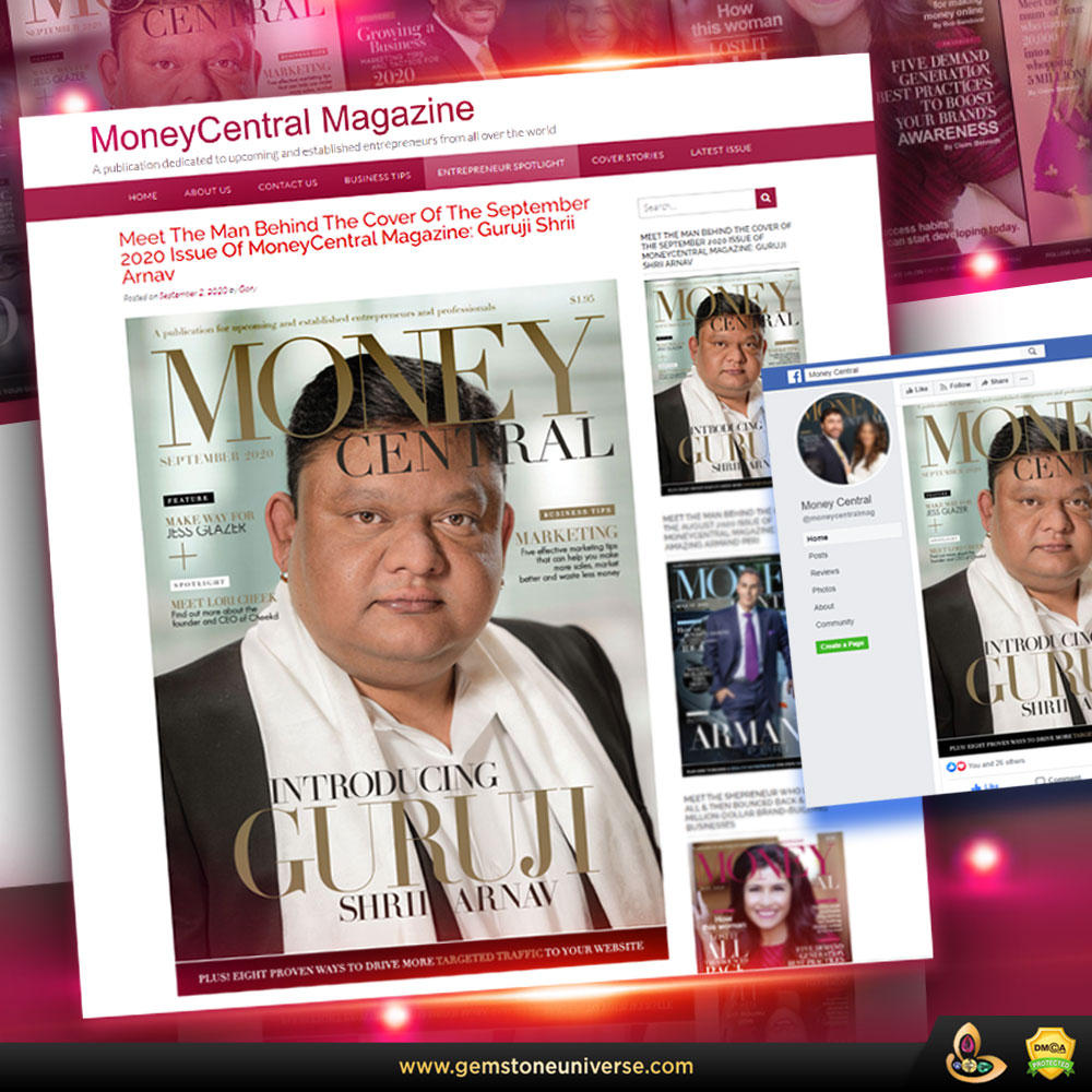 Guruji Shrii Arnav's interview with MoneyCentral Magazine
