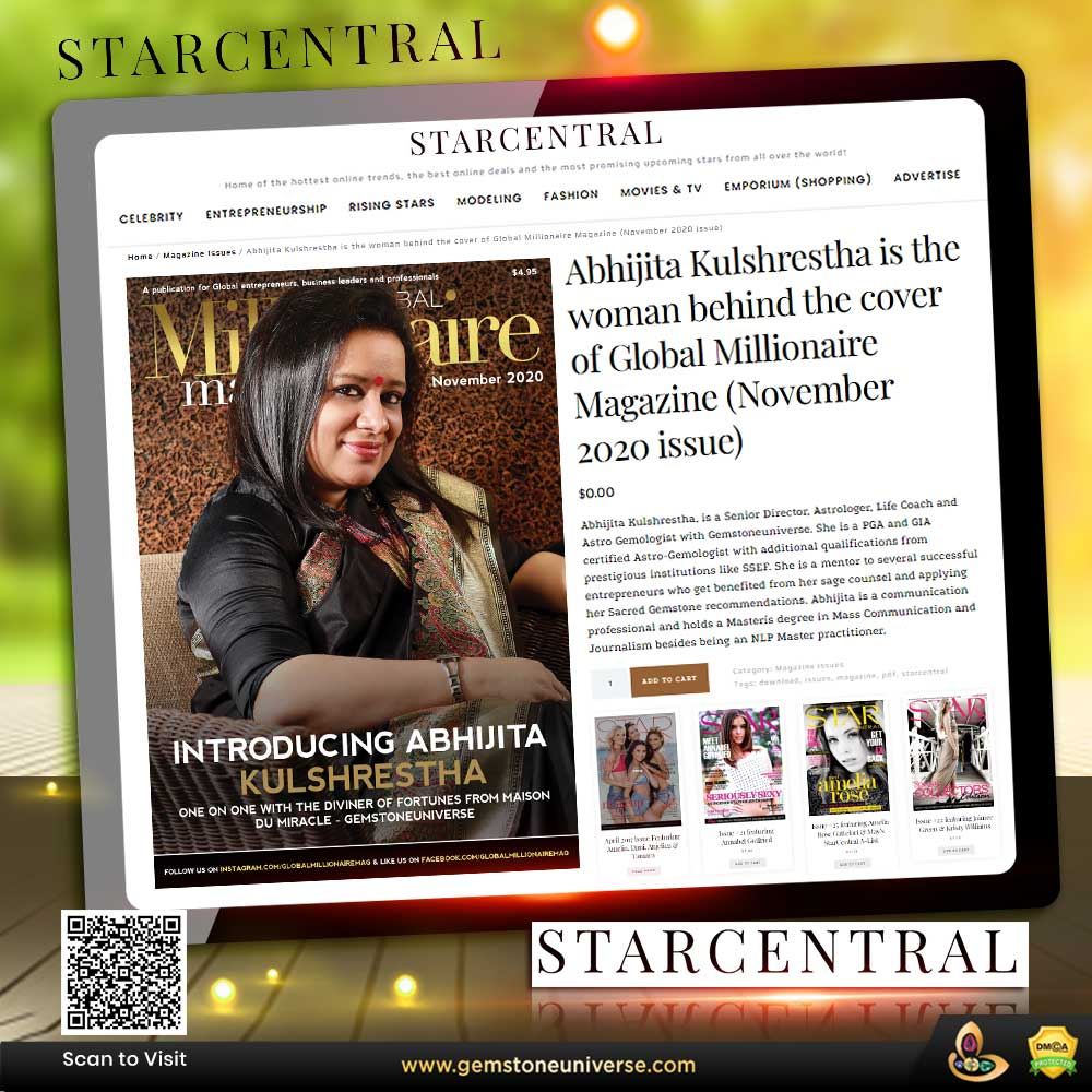 Meet The Woman Behind The Cover Of The November 2020 Issue Of Global Millionaire: Abhijita Kulshrestha