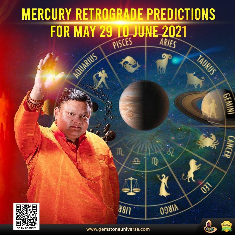Mercury Retrograde Astrological Predictions by Guruji Shrii Arnav