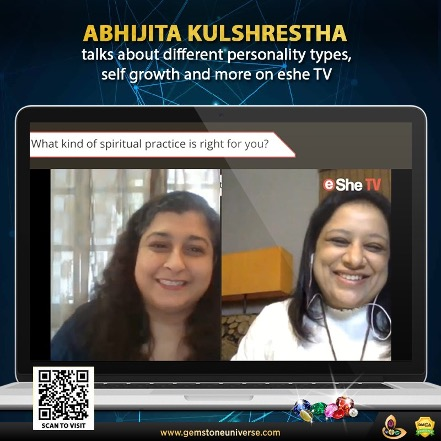 Abhijita Kulshrestha talks about different personality types, self growth and more on eShe TV