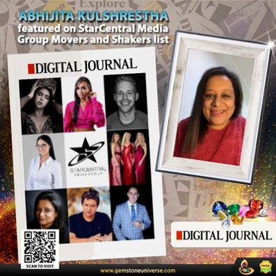 Abhijita Kulshrestha features in StarCentral Media Group's Movers & Shakers List