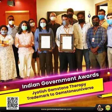 https://www.gemstoneuniverse.com/gemstoneuniverse-Indian-Government-awards-Jyotish-Gemstone-Therapy-trademark-to-Gemstoneuniverse.html