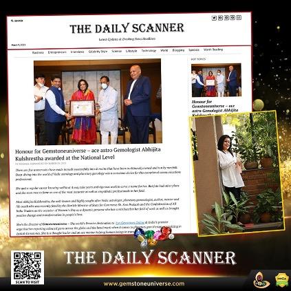 https://www.gemstoneuniverse.com/gemstoneuniverse-Daily-Scanner-Featured-Ace-Astro-Gemologist-Abhijita-Kulshrestha-Awarded-at-the-National-Level.html