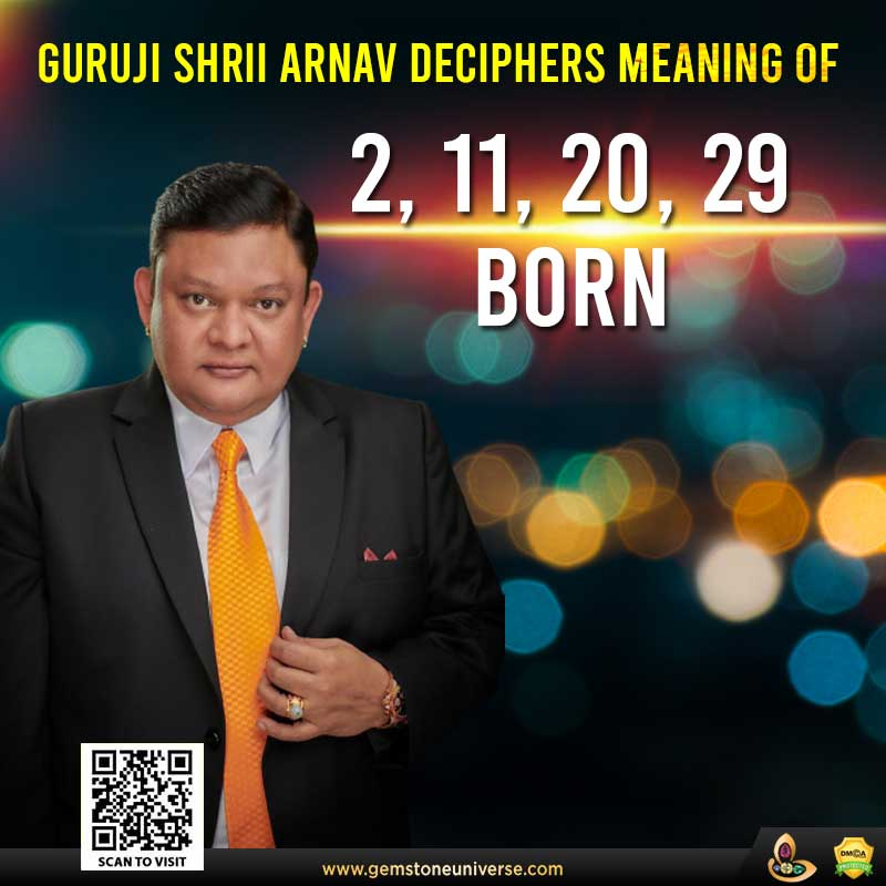 Tips for Individuals born on 2, 11, 20, 29