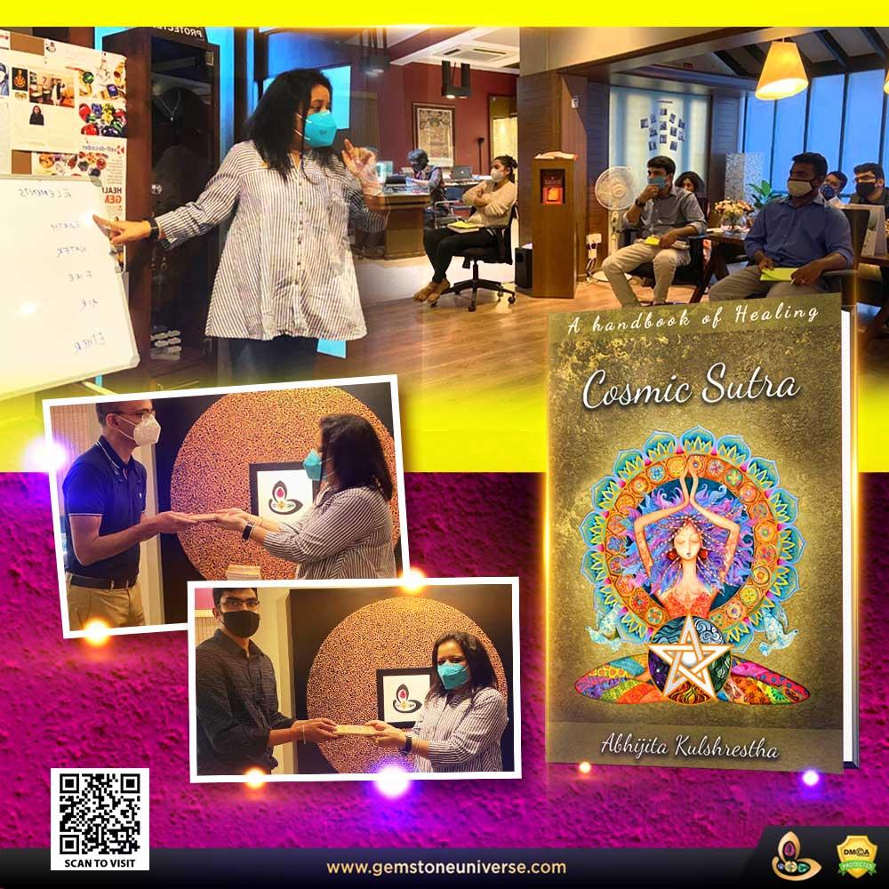 Workshop by Abhijita Kulshrestha on Cosmic Sutra – A handbook of Healing