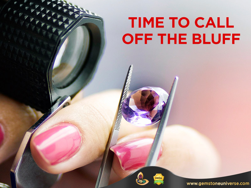 Colored Gemstone Clarity Grading Systems | Time to Call off the Bluff