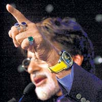 Amitabh Bachchan Gemstones,Blue Sapphire & Finger rings