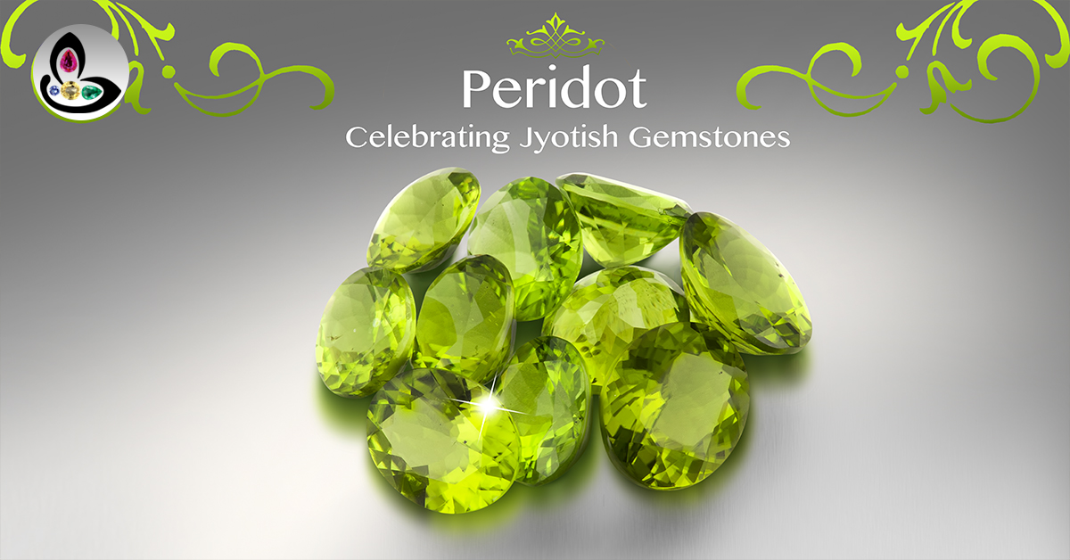 Peridot Gemstone from Arizona