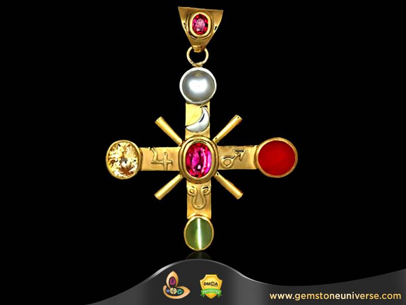 Vedic Astrology Gemstones Remedies-The Pancharatna Talisman