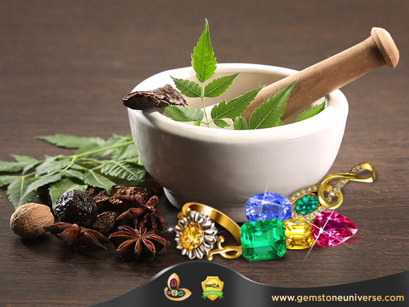 Astrological Gemstones for Ayurveda